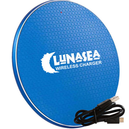 Lunasea LunaSafe 10W Qi Charge Pad USB Powered - Power Supply Not Included