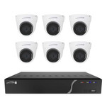 Speco 8 Channel NVR Kit w\/6 Outdoor IR 5MP IP Cameras 2.8mm Fixed Lens - 2TB