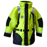 First Watch Hi-Vis Flotation Coat - Hi-Vis Yellow\/Black - Large