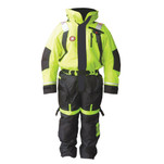 First Watch Anti-Exposure Suit - Hi-Vis Yellow\/Black - X-Large