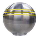 "Ongaro Throttle Knob - 1-"" - Gold Grooves"
