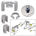 Tecnoseal Anode Kit w\/Hardware - Mercury Bravo 1 - Aluminum