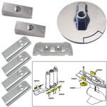 Tecnoseal Anode Kit w\/Hardware - Mercury Verado 6 - Zinc
