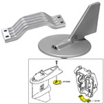 Tecnoseal Anode Kit w\/Hardware - Yamaha 150-200HP - Zinc
