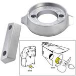 Tecnoseal Anode Kit w\/Hardware - Volvo 290 - Aluminum