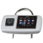 """NavPod GP1040-14 SystemPod Pre-Cut f\/Raymarine a95\/a97\/a98 & 1 Instrument f\/9.5"""" Wide Guard"""