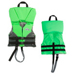 Stearns Infant Heads-Up Nylon Vest Life Jacket - Up to 30lbs - Green
