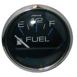 "Faria Chesapeake Black SS 2"" Fuel Level Gauge (E-1\/2-F)"