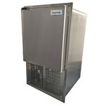 Raritan Icerette Automatic Ice Cube Maker - Stainless Steel - 115VAC - Built-in Flange Mount