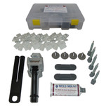 Weld Mount Adhesively Bonded Fastener Kit w\/AT 8040 Adhesive