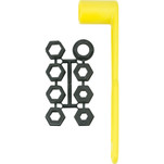 "Attwood Prop Wrench Set - Fits 17\/32"" to 1-1\/4"" Prop Nuts"