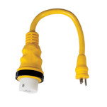 Marinco 15A to 50A 125\/250V Pigtail Adapter