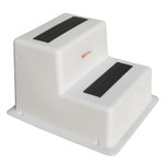 Taylor Made StepSafe Dock Step - Double Tread - White