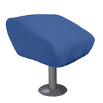 Taylor Made Folding Pedestal Boat Seat Cover - Rip\/Stop Polyester Navy