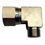 Uflex 90° 3\/8 NI Plate Comp Fitting