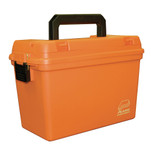 Plano Deep Emergency Dry Storage Supply Box w\/Tray - Orange