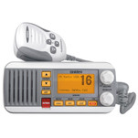 Uniden UM435 Fixed Mount VHF Radio - White