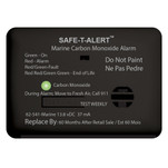 Safe-T-Alert 62 Series Carbon Monoxide Alarm w\/Relay - 12V - 62-541-R-Marine - Surface Mount - Black