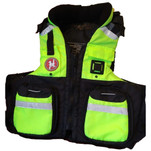 First Watch AV-800 Pro 4-Pocket Vest (USCG Type III) - Hi-Vis Yellow\/Black - 2XL\/3XL