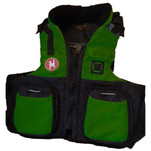 First Watch AV-800 Pro 4-Pocket Vest (USCG Type III) - Green\/Black - S\/M