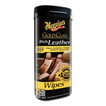 Meguiars Gold Class Rich Leather Cleaner  Conditioner Wipes