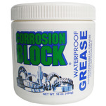 Corrosion Block High Performance Waterproof Grease - 16oz Tub - Non-Hazmat, Non-Flammable  Non-Toxic