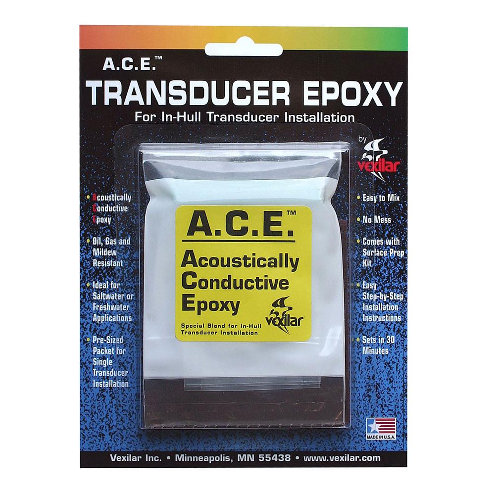 Vexilar A C E  Transducer Epoxy