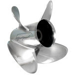 Turning Point Express EX1-1315-4\/EX2-1315-4 Stainless Steel Right-Hand Propeller - 13.5 x 15 - 4-Blade
