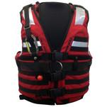 First Watch HBV-100 High Buoyancy Type V Rescue Vest - Medium-X-Large - Red