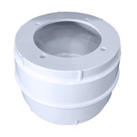 Edson Molded Compass Cylinder - White