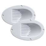 Innovative Lighting Marine Hull Mount Horn - Pair - White