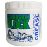 Corrosion Block High Performance Waterproof Grease - 16oz Tub - Non-Hazmat, Non-Flammable  Non-Toxic *Case of 6*