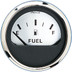 "Faria 2"" Fuel Level Gauge (E-1\/2-F) - Spun Silver"