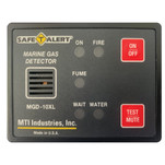 Safe-T-Alert Gas Vapor Alarm Fume, Fire, Bilge Water - Black Surface Mount