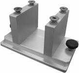 Cisco Mounting Systems - Multi Units: Cisco Fishing Systems Track Mount for Multi Rod Holder.