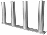 Cisco Rod Rack Storage (Rocket Launchers): Cisco 4 Rod Holder Vertical Rocket Launcher