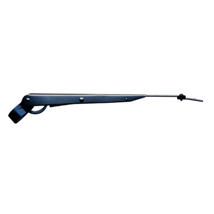 """Marinco Wiper Arm Deluxe Stainless Steel - Black - Single - 14""""-20"""""""