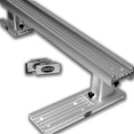 "Traxstech Removable 4' Trolling Bar with two 4-1/2"" straight risers and two MT-6 end caps (DRB-4)"