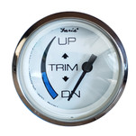 "Faria 2"" Chesapeake White Trim Gauge f\/Honda Engines"