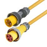 Marinco 100 Amp 125\/250V 3-Pole, 4-Wire Shore Power Cordset - Neutral Wire - Female End - 75