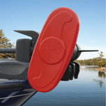 """Taylor Made Trolling Motor Propeller Cover - 2-Blade Cover - 12"""" - Red"""