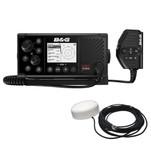 BG V60-B VHF Marine Radio w\/DSC, AIS (Receive  Transmit)  GPS-500 GPS Antenna
