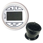 """Faria 2"""" Depth Sounder Dress White w\/In-Hull Mounted Transducer"""