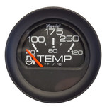 "Faria 2"" Water Temperature Gauge 100-200F - Black Bezel w\/Orange Pointer"