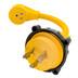 """Camco 30AM\/15AF Power Grip Marine 12"""" Dogbone - M-Locking\/90F Adapter"""