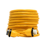 Camco 50 Amp Power Grip Marine Extension Cord - 50 M-Locking\/F-Locking Adapter