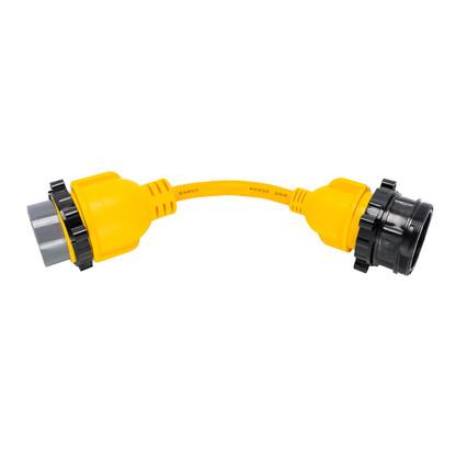 "Camco 50AM\/30AF Power Grip Marine 12"" Locking Adapter - M-Lock\/F-Locking Adapter"