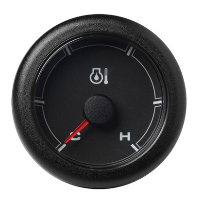 "VDO Marine 2-1\/16"" (52mm) OceanLink Engine Oil Temperature Cold \/ Hot - Black Dial  Bezel"