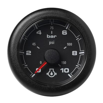 """VDO Marine 2-1\/16"""" (52MM) OceanLink Engine Oil Pressure - Black Dial  Bezel"""
