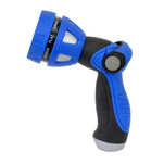 HoseCoil Thumb Lever Nozzle w\/Metal Body  Nine Pattern Adjustable Spray Head